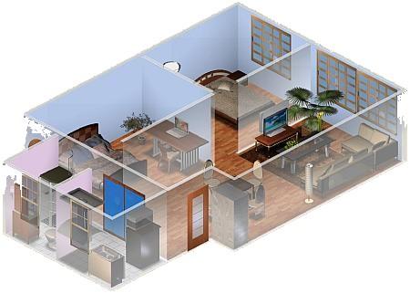 Home page for Crea la tua casa 3d